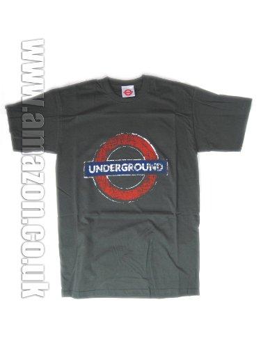 London Underground–Underground T-Shirt (Distressed)