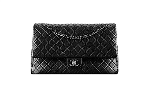 Chanel Purse Bag (Braun Chanel Black Leather chain bag)