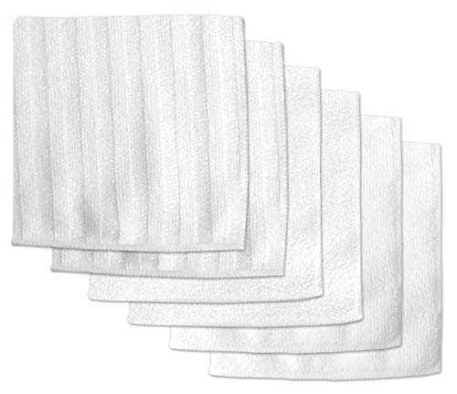 DII Microfiber Scratch Free Scrubber Cleaning Dishcloth