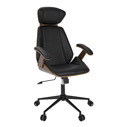 Wood, Pu Fabric, Foam, Metal Spectre Office Chair ()