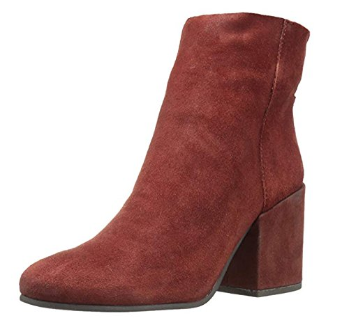 Lucky Brand Women's Ravynn Ankle Boot, Sable, 10 Medium US