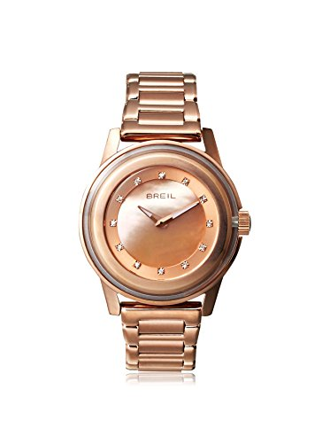 Breil Watch, Women's Orchestra Rose Gold Plated Stainless Steel Bracelet TW1010