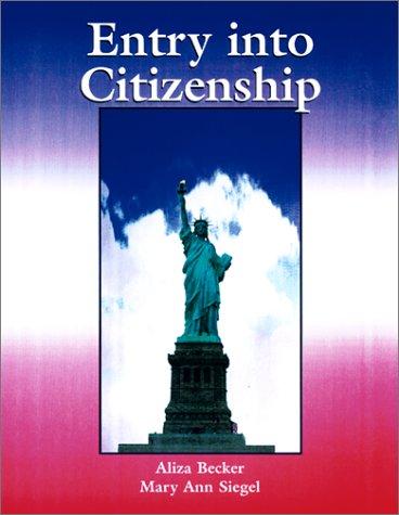 Entry Into Citizenship Teacher's Manual