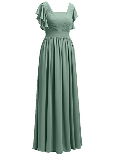Mother Hot Of Cdress The pink Formal Prom Chiffon Long Evening Bride Dresses Wedding Gowns 1a17nx