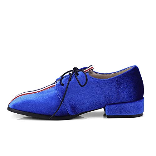 36 Sandales Bleu 5 Compensées Bleu Femme DGU00585 AN wCqYnO