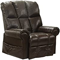 Catnapper Stallworth Power Lift Full Lay Out Chaise Recliner in Godiva