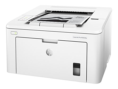 HP LaserJet Pro M203dw Wireless Laser Printer, Amazon Dash Replenishment ready (G3Q47A). Replaces HP M201dw Laser - Remote Hp