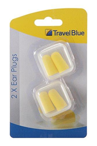 Travel Blue Yellow Earplug