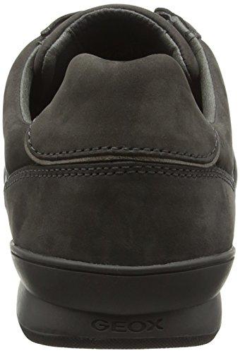 Geox U Kristof A, Zapatillas Para Hombre Braun (MUDC6372)