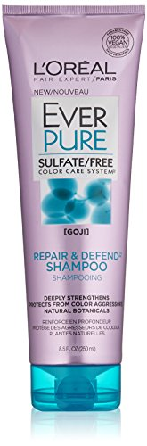 L'Oréal Paris EverPure Sulfate Free Repair & Defend Shampoo, 8.5 fl. oz.