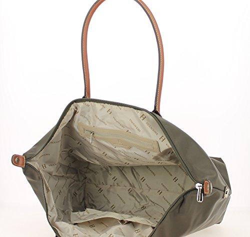 Bolsa Gran Hexagona marron Oscuro Shopping g0wZ0qp