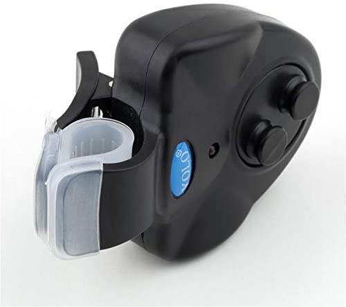 Electronic Fishing Bite Sound Alarm LED Light Alert Bell Clip-On Fishing Rod Hot