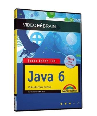 JLI Java 6 - Video-Training - 8 Stunden Video-Training - Java lernen wie im Kurs! Mit Entwicklungstools auf DVD und 24seitigem Booklet. (Videotraining auf DVD)