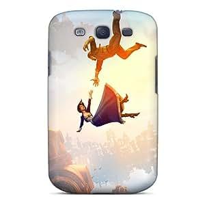 TraciCheung Samsung Galaxy S3 Bumper Hard Cell-phone Case Custom Colorful Bioshock Infinite Falling Pattern [gjP2364spZy]