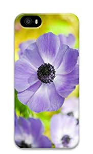 rugged cover lilac colored flower PC Case for iphone 5/5S