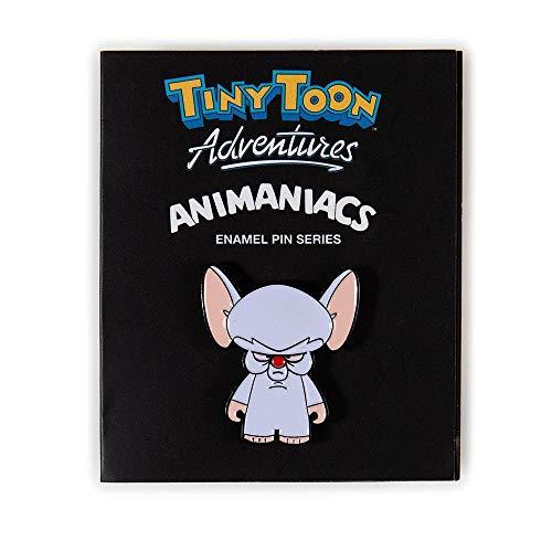 Kidrobot Tiny Toon & Animaniacs Enamel Pin Collection - Brain (1/20)