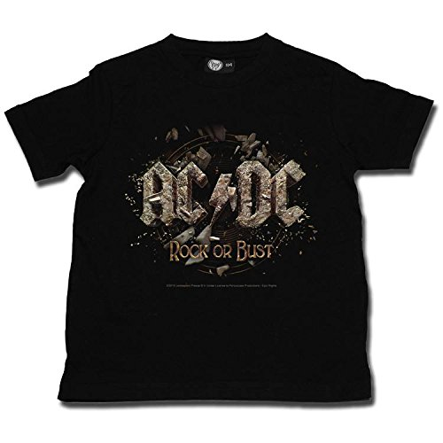 ACDC Rock or Bust T-Shirt (Black) - 9