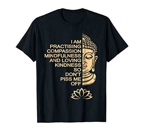 (Meditation Buddha T Shirt gift idea for men and women)