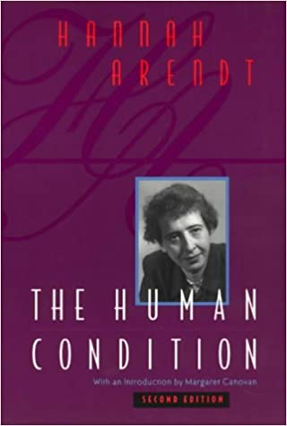 Image result for hannah arendt the human condition