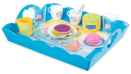 Smoby - 7/310530 - Peppa Pig - Plateau Tea Time