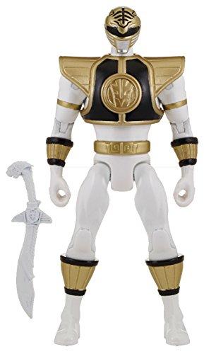 """Power Rangers Super Megaforce - 5"""" Mighty Morphin White Ranger Action Hero"""