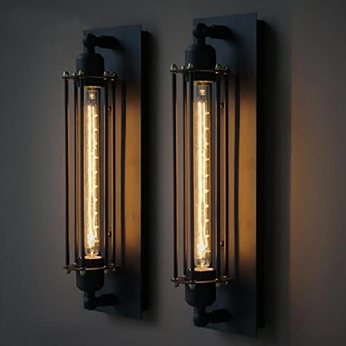 Nostralux® Industrial Long Wall Lamp Retro Wall Light Rustic Wall Sconce Vintage Light