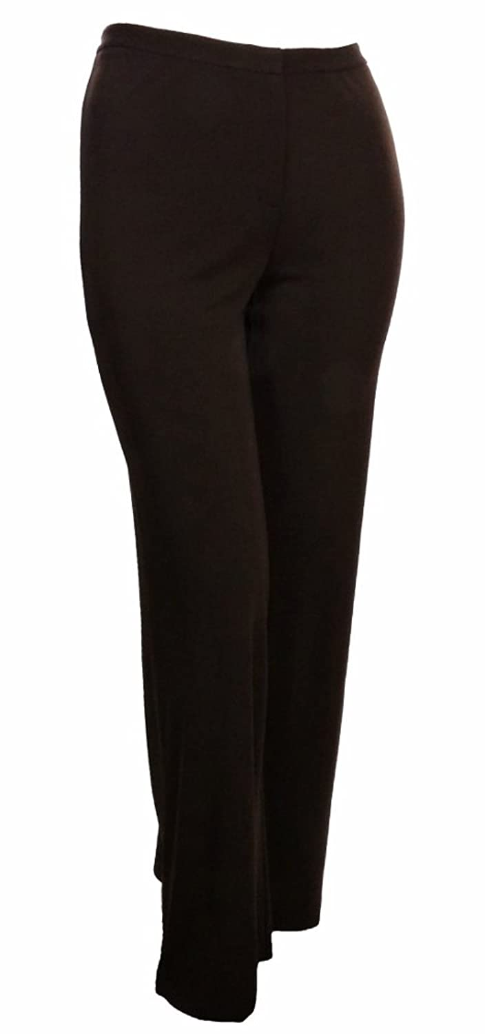 Sutton Studio Womens Wide Leg Jersey Trouser Pants