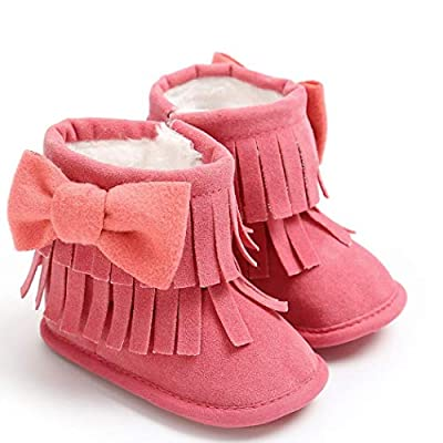 Tronet Winter Baby Shoes, Toddler Girls Keep Warm Double-Deck Non-Slip Snow Boots