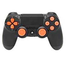 Orange Out PS4 Rapid Fire Modded Controller, Works With All Games, COD, Rapid Fire, Dropshot, Akimbo & More