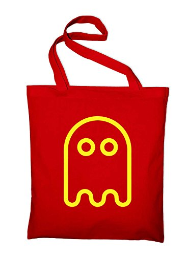 gamer Gym Man quotes Jute retro Tote Red nes Bag funny slogan Bag Canvas Shopping Ghost Beach Pac snes Cotton a7dqII