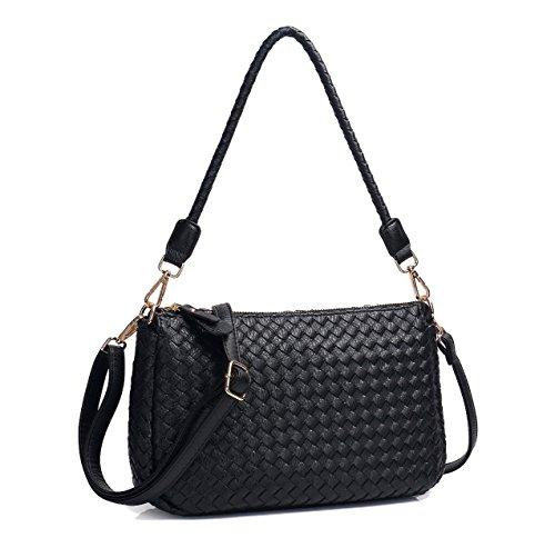 Woven Leather Handbags - 5
