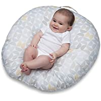 Boppy Newborn Lounger, Gray/Taupe Propeller