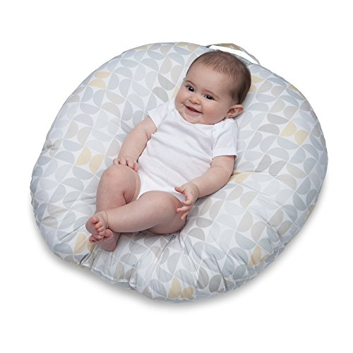 Boppy Original Newborn Lounger, Gray/Taupe Propeller