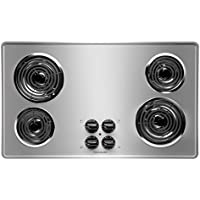 Frigidaire FFEC3605LS 36 Electric Cooktop, Stainless