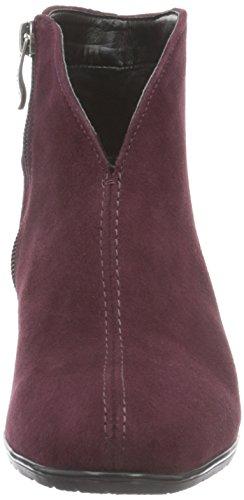 Ara Toulouse-st, Botines para Mujer Rojo - Rot (barolo 02)