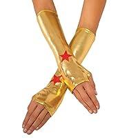 Rubie DC Superheroes Wonder Woman Guanteletes para mujer de Rubie, Múltiples, Talla Única