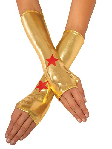 Rubie's Women's DC Superheroes Wonder Woman Gauntlets, Multi, One -