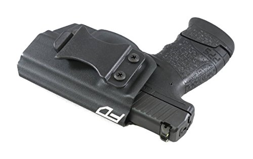 Fierce Defender IWB Kydex Holster Walther PPS M2 The Winter Warrior Series -Made in USA- (Black)