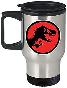 Maureen52Dorothy T Rex Jurassic Park taza de café taza (viaje) 14 oz Jurassic Park Dinosaurios Regalos Accesorios Merchandising Shirt calcomanía Art Decor: Amazon.es: Hogar