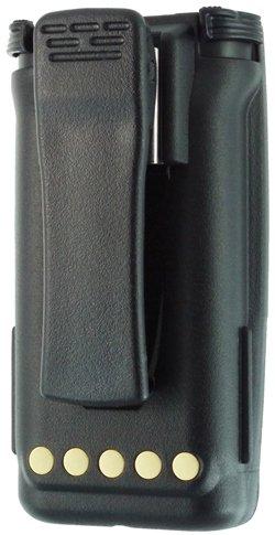 Li-Ion High Capacity Replacement Battery for: Harris / P5300 Series / P5350 / P5370 / P5400 Series / P5450 / P5470 / P5500 Series / P5550 / P5570 / P7300 Series / P7350 / P7370 / XG25P / XG75P, 2500 mAh , Li-Ion, With Belt Clip, Replaces: BT-023406-003 / BT-023406-005 / BT-023436-001 (P5500 Series)