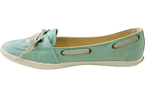 Keds Women's Teacup Boat Fashion Slip On Shoes, Light Blue, 7.5 B(M) US