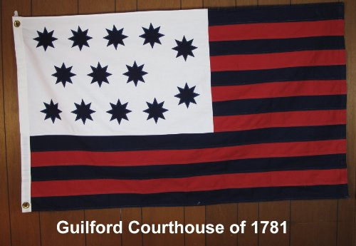 Guilford Courthouse Flag of 1781