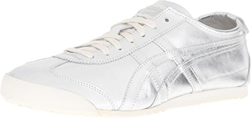 Onitsuka Tiger Herren Mexiko 66 Fashion Sneaker Silber / Silber