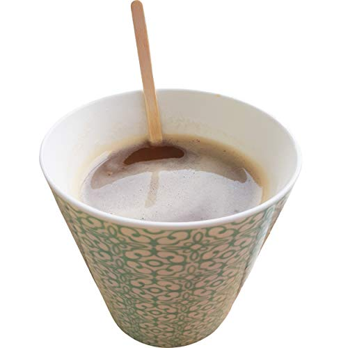 Wooden Coffee Stir Sticks 1500 Count - Eco-Friendly Splinter-Free Birch Wood - Disposable Coffee, Tea, Beverage Mixing Stirrers with Round Ends by My Trendy Kitchen (Image #5)