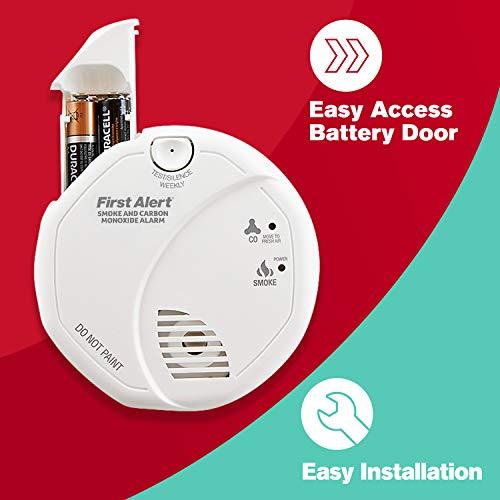 First Alert - Detector de humo y monóxido de carbono [Importado de Reino Unido]: Amazon.es: Bricolaje y herramientas
