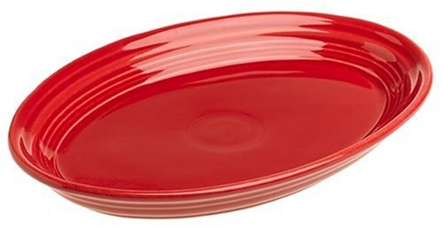 Fiesta 9-5/8-Inch Oval Platter, Scarlet (Fiesta Ware Small Platter compare prices)