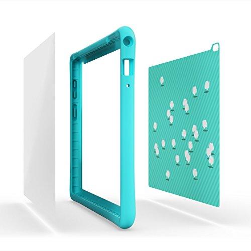 Lenovo Tablet Case, Tab 4 10' HD Kids Tablet Case with Blue Light Filter, Light Blue, ZG38C01718