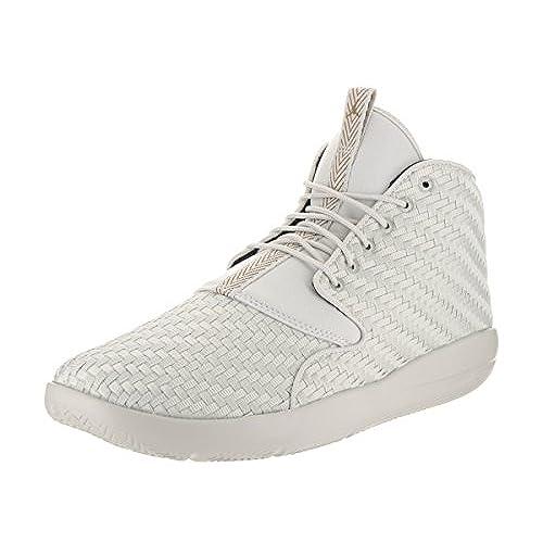 fe1632b68710 Nike Jordan Men s Jordan Eclipse Chukka Light Bone Golden Beige Black  Basketball Shoe 8.5