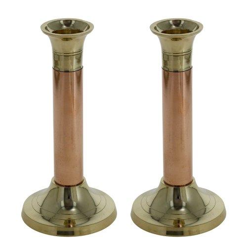 Unique Vintage Flower Bud Vase Pair Indian Copper (Brass Bud Vase)