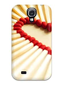 For Galaxy S4 Tpu Phone Case Cover(love Matchsticks)